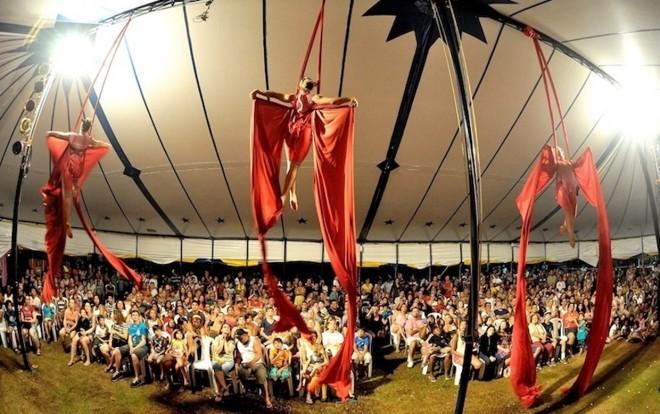 Circo no Parque da Cidade é uma das atrações